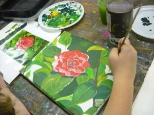 Denise schilderij